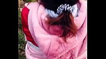 Sarah Sota Gets A Facial In A Public Park - Almost Got Caught While Fucking Outdoor