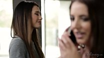 Surprise Brithday Threeway - Samantha Rone, Angela White, Eva Lovia