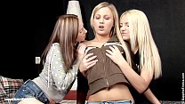 Deep fingering action on Sapphic Erotica with L...