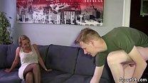 Stief-Sohn mit dem Riesen Pimmel bekommt Fick von Mutti Vorschaubild