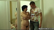 Son-in-law surprised his wifes mom