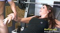 Big Tits Milf Wife Fucks Young Gym Instructor