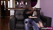 tattooed babe rizzo gets her pussy rammed by black cock - xxx x video thumbnail