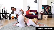 Nympho Nina Kayy Banged By Fat Ebony Cock!'s Thumb