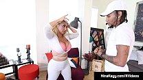 Nympho Nina Kayy Banged By Fat Ebony Cock! - 69VClub.Com