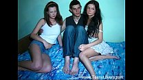 Two cuties Vlaska,  Liana share long schlong