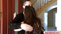 Teen Casey Calvert anal fucked by her fiances brother - 9Club.Top