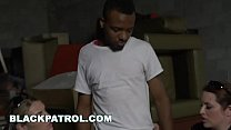 BLACK PATROL - Black Suspect Is Dominated and Fucked By Big Ass MILF Cops - 9Club.Top