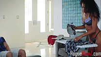 Ebony Mom's Interracial Interaction With Daught