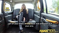 Fake Taxi Butt plug & cock stretch hot babe Val...