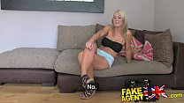 FakeAgentUK Beautiful blonde MILF gives outstanding blowjob