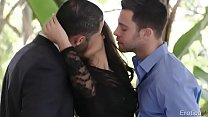 Young, Mature Threesome 04