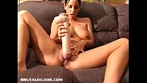 Pamela filling her once tight pussy with a massive dildo صورة