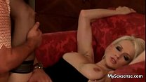 Stacy Silver is a blonde babe with big video