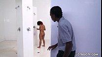 Ebony thight butt lass Deana Dulce with natural...