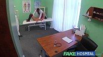 Fake Hospital Doctors magic cock produces vocal orgasm