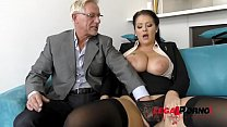 Tattooed and curvy Anissa Jolie gets her big ass fucked by old dude GP142