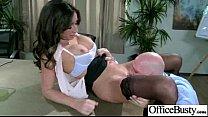 (stephani moretti) Office Slut Girl With Big Melon Tits Banged Hardcore mov-30 preview image