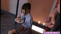 Chika Ishihara licks hard cock Thumbnail
