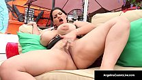 Cuban, Angelina Castro Masturbates & Gives A POV Blow Job!