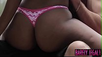 Young ebony Chanell Heart stuffed with cock in outdoor fuck pornhub video