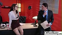 Hard Sex Tape In Office With Big Round Tits Sexy Girl (Anna De Ville) video-02