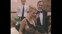 Scarlett Johansson falls out of her dress thumb