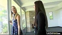 Sex Play Time On Camera With Teen Lesbian Girls (Jillian Janson & Kenna James) mov-17