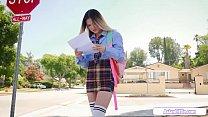 19yo Petite Asian Lulu Chu Fucks Teacher