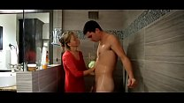 Image: Prestine Edge in Mom Helps Out Son in the Shower