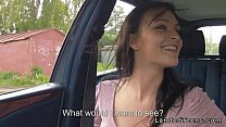 6351 Beautiful teen banged in car pov preview
