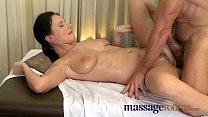 Massage Rooms Mature woman with hairy pussy given orgasm thumbnail