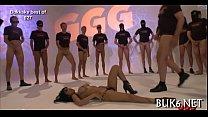 Wild and salacious blow group-sex pornhub video