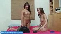 Shyla Jennings and Capri Anderson Rides The Sybian