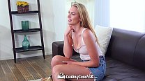 CastingCouch-X - Cute blonde Cali girl Cosima Knight first audition video