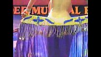 Image: Arab busty on stage dancing
