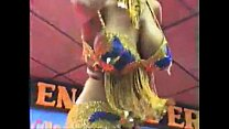 8696 Arab busty on stage dancing preview