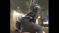 Judy Hopps doggystyle 2