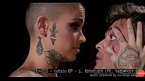 Short Hair Tattooed Girl Femdom Pegging Music By ivvill
