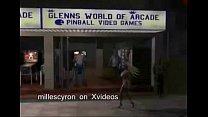 cute babe-pinball play video
