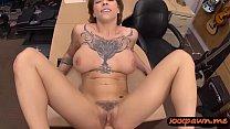 Busty woman with tattoo banged so hard at the p... Thumbnail