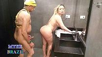 Tiozão Safado Invade O Banheiro Feminino  Da Ac