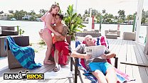 8124 BANGBROS - Bruno Fucks Harley Jade In Front Of Her Grandpa Like A Savage preview