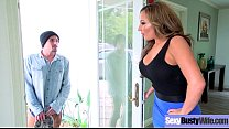 Sexy Housewife (Richelle Ryan) With Big Jugss Nailed Hardcore On Cam vid-15