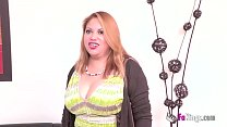 Busted! filming a married woman with great peruvian titties ◦ Www.zazzers.com thumbnail