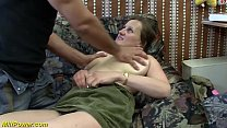 busty german Milf enjoys a big dick in her ass image