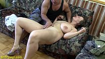 busty german Milf enjoys a big dick in her ass porn thumbnail