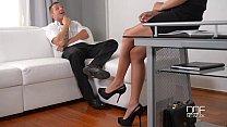 Office daydreamer fucks sexy secretary in the ass image