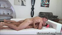 sexzool ◦ Super sexy Alexis Brill rides a cock in reverse cowgirl position thumbnail