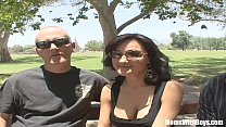 Busty Wife Sami Scott Fucked While Husband Wches - 9Club.Top